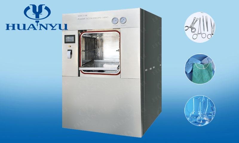 MQS Series Vertical Sliding Door Pulse Vacuum Sterilizer